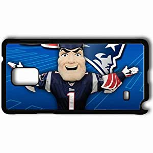 Personalized Samsung Note 4 Cell phone Case/Cover Skin 1504 new england patriots Black