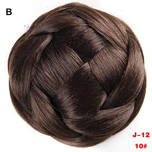 FORUU Wigs, 2019 Valentine's Day Surprise Best Gift For Girlfriend Lover Wife Party Under 5 Free delivery Pretty Woman Girl Ponytail Holder Hairpiece Wig Hair Ring Bun ()