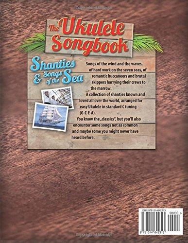 Amazon The Ukulele Songbook Shanties Songs Of The Sea