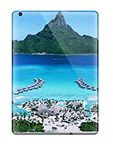 New Snap-on Mjdavis Skin Case Cover Compatible With Ipad Air- Bora Bora Four Seasons