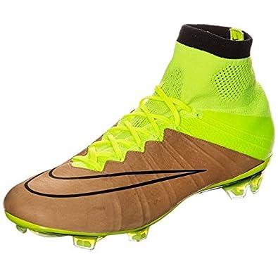 Nike Mercurial Superfly Tech Craft FG Shoes (Canvas/Black-Volt Toile/Volt