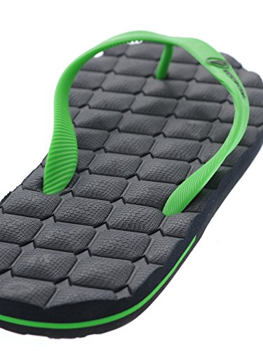 Volcom Water Friendly Flip Flop ~ Recliner Green