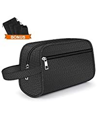 Tunnkit Hanging Toiletry Bag - Portable Travel Bags for Men/Women Shaving/Grooming/Cosmetic/Toiletries 4 Sizes Shoes Organizer Pouch for Business/Trip/Vacations