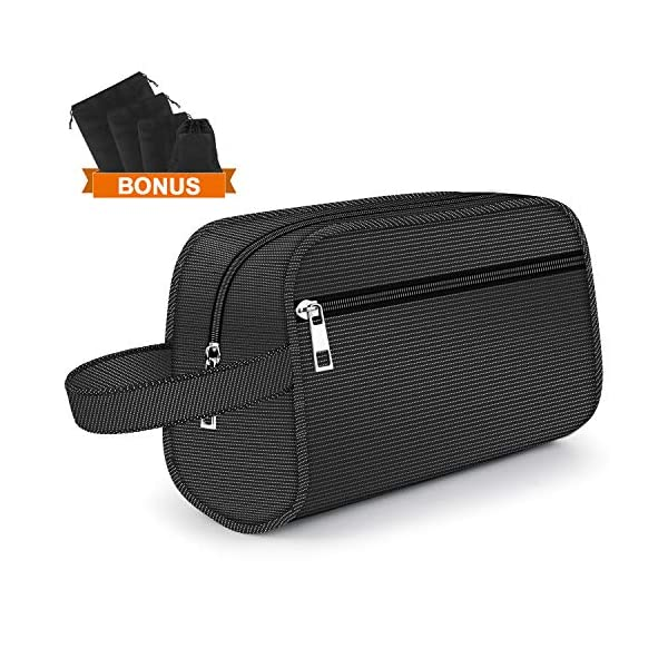 Hanging Toiletry Bag - Portable Travel Bags for Men/Women, Shaving/Grooming/Cosmetic/Toiletries, 4 Sizes Shoes Organizer Pouch for Business/Trip/Vacations