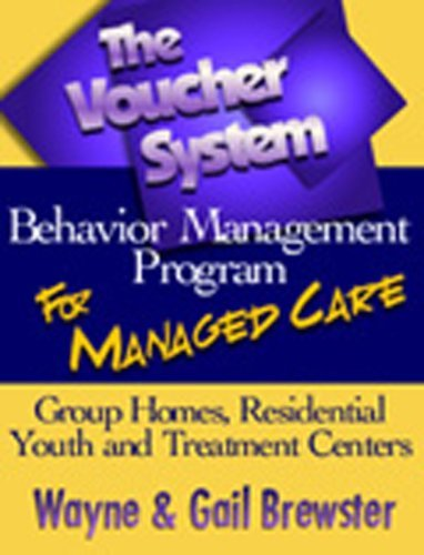 The Voucher System Behavior Management Program for Managed Care by Brewster Gail (2000-03-20) Paperback
