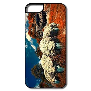 IPhone 5 5S Cover, Karabakh Armenia Cases For IPhone 5S - White/black Hard Plastic