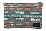Pendleton Women's Canopy Canvas Big Zip Pouch, Chief Joseph Grey, One Size