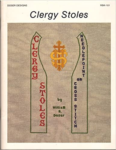 Clergy Stoles Needlepoint or Cross-Stitch