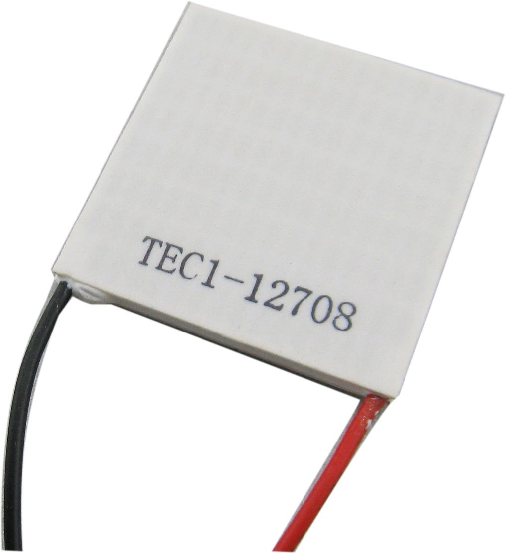 Yeeco 40mm40mm TEC1-12708 High Power TEC Thermoelectric Cooler Panel DC 12V 8A 96W Generator Cooling Peltier Plate Module Thermostat Cool Controller by Yeeco (Image #1)