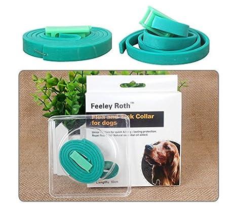 Aceites Esenciales Naturales Flea & collar antipulgas para perros y gatos