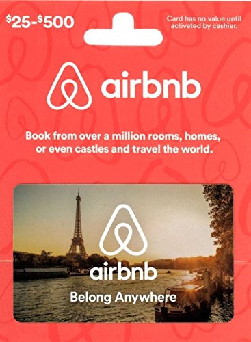 Airbnb 25-500 Gift Card