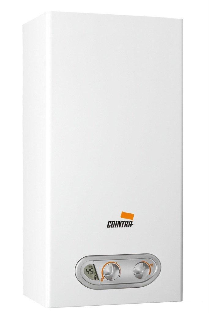... de calentador único Color blanco - Hervidor de agua (Vertical, Depósito (almacenamiento de agua), Sistema de calentador único, Interior, Gas natural, ...