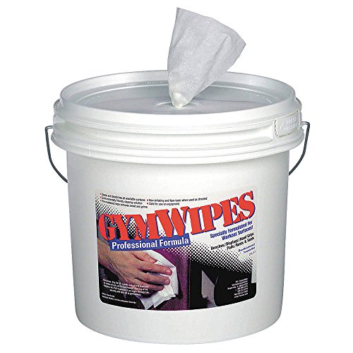 Germicidal Gym Equipment Wipes, 8″ x 7″, 700 Wipes