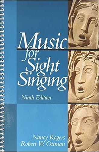 music for sight singingstudying rhythm pkg 9th edition