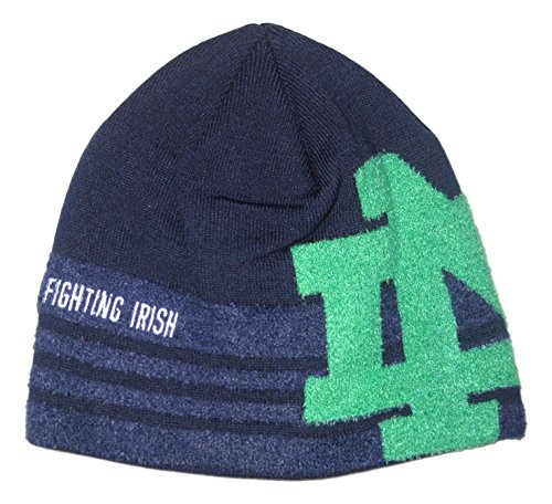 Notre Dame Fighting Irish Big Logo Knit Beanie (Big Logo Beanie)
