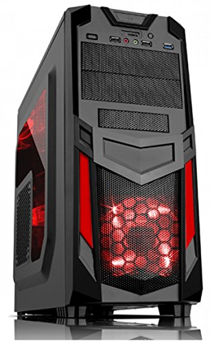 computer gaming msi fisso gia assemblato  ULTRA VELOCE Quad Core 4.2Ghz 16GB 1TB Desktop Gaming PC Computer ...