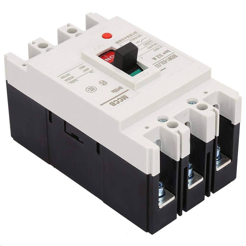 32A El disyuntor integrado 3P interruptor de corte de aire con todos los contactos de cobre 800V