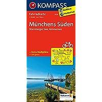 Münchens Süden - Starnberger See - Ammersee: Fahrradkarte. GPS-genau. 1:70000 (KOMPASS-Fahrradkarten Deutschland, Band 3120)