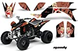 2007 yfz 450 graphics - Yamaha YFZ 450 2004-2013 ATV All Terrain Vehicle AMR Racing Graphic Kit Decal MANDY RED BLACK