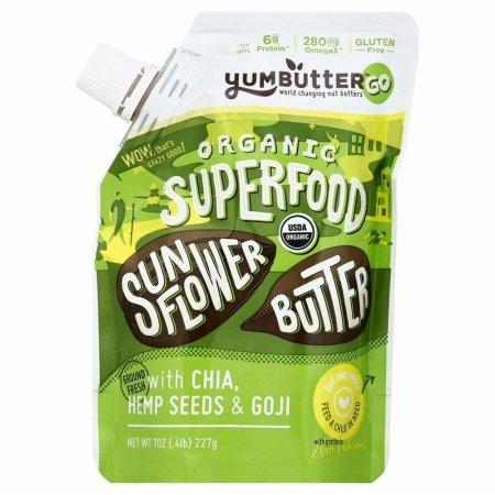 YUMBUTTER Sunflower Butter Org Pouch, 7 OZ