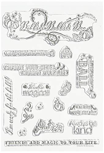 Character World Disney Cinderella Stamp Set - Disney Stamp Block