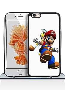 IPhone 6 6s Plus [5.5 inch] Funda Case, Super Mario Sunshine Game Funny Artistic Fantastic Simple Cool Pattern Anti Slip Shell Protective Funda Case