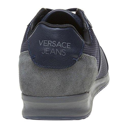 Salida De Fábrica Versace Jeans Wing cap Uomo Sneaker Blu Blu Precio Barato Barato Caliente Venta Online Envío Del Precio Bajo Tarifa FLUEFYfGDH