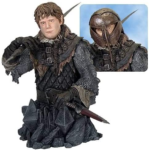 B000NK9IWI Gentle Giant Lord of The Rings Sam in Orc Armor Bust 51eEhuuBUAL