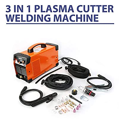 9TRADING Plasma Cutter For PRIMEWELD CT520D 50 A /200 A Tig Arc Mma Welder 110/220V NEW B,Free Tax,Delivered within 10 days