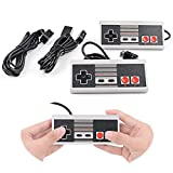 2-Pack NES Classic Edition/ Mini Controller For Replacement, With Extended 3m/ 10ft Cable