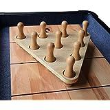 Hathaway Shuffleboard Bowling Pin Set