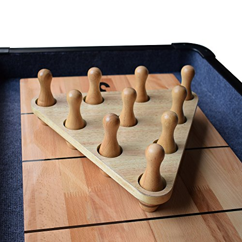 Hathaway Shuffleboard Bowling Pin Set Bowling Table