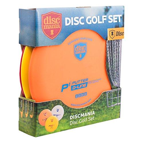 Discmania 3-Disc Beginner Disc Golf Set by Discmania