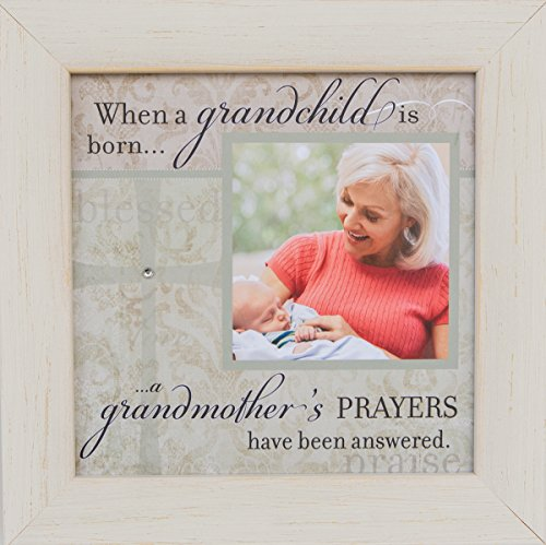 The Grandparent Gift When a Grandchild is Born Photo Frame for New Grandma (Answered Prayer)