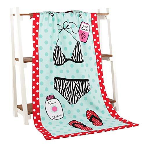 Amazon.com: HAVIPRO Absorbent Microfiber Bath Toalla Summer Beach Towels Swimming Shower Poolside Wrap Blanket Washcloth Drying Towel 70140cm: Home & ...