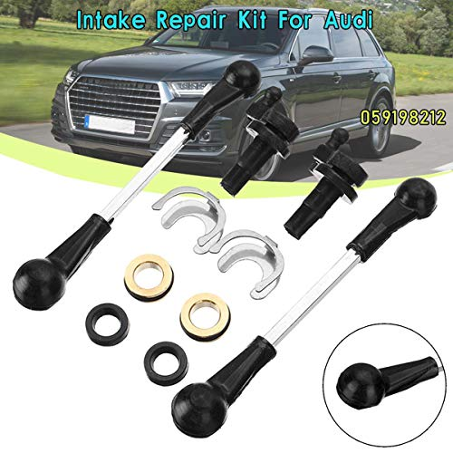 TOYECOTA - 059198212 Intake Manifold Swirl Flap Repair Kit For Audi A4 A5 A6 A7 A8 Q5 Q7 2.7 3.0 TDI 059198212 (Best Tires For Audi Q7 Tdi)