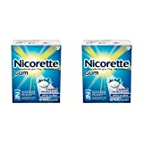 Nicorette Nicotine Gum to Stop Smoking, 2mg, White Ice Mint, 160 Count (Pack of 2)