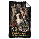 Labyrinth Family Fantasy Adventure 1986 Movie Fleece Blanket Multi Color