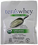 tera's: Organic Whey Protein, Plain, 1 oz (Pack of 12)