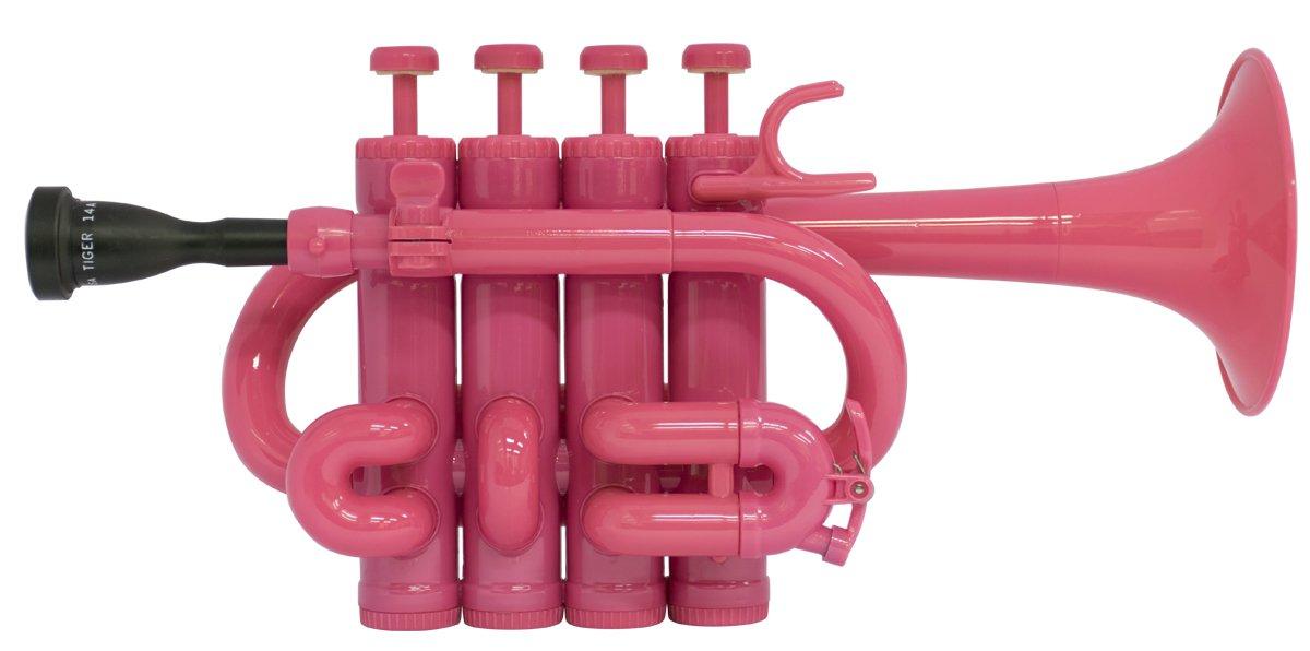 タイガー TIGER プラスチック製ピッコロトランペット PCL-03 カラー:ピンク B00WHMMZB6  ピンク