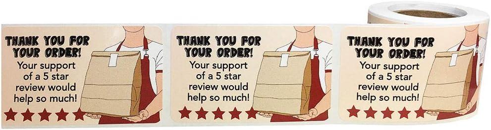 500 Paquet Livraison de Nourriture Inscriptibles Scell/é Inviolable pour la Fra/îcheur et la S/écurit/é /Étiquettes 76 mm 3 Pouce Autocollants Ronds