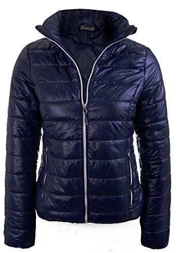 mujer 4f Jacket marino Chaqueta azul Damask q1zn1xrt