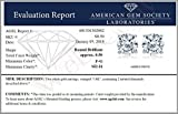 1/2 cttw SI2-I1 Clarity Certified Diamond Stud Earrings 14K White Gold H-I Color