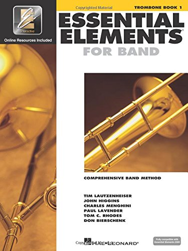 Learn 1 Trio Book - Essential Elements for Band - Trombone Book 1 with EEi