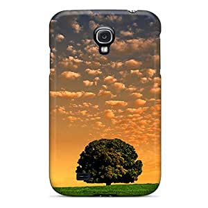 M.box Case Cover For Galaxy S4 - Retailer Packaging Lone Tree Protective Case