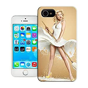 Fashion Case Beautiful lady and presents lovely picture top quality iPhone 4/4S case cover for sale ttevS5D9z3s by LeTian case cover