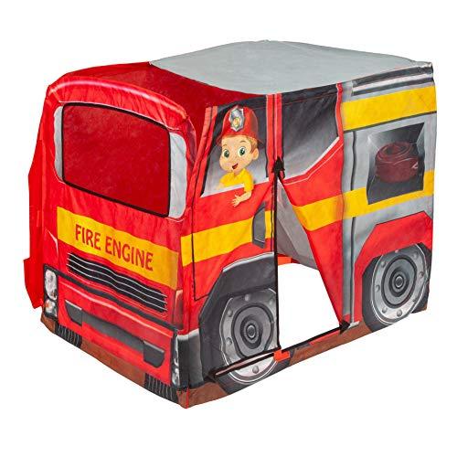 Explore Hut Fire Engine Play Tent (Play Hut Bus)