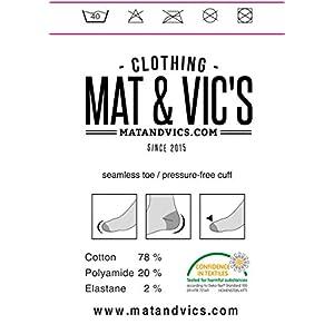Mat & Vic's Men's Classic European Dress Cotton Socks 10 Pack (10 Pairs Black, Size US 9-12, Large)