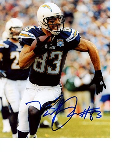 Vincent Jackson San Diego Chargers (Autographed Vincent Jackson San Diego Chargers Signed 8x10 Photo - Certified)