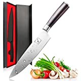 #2: Imarku Pro Kitchen 8 inch Chefs Knife High Carbon Stainless Steel Sharp Knives Ergonomic Equipment